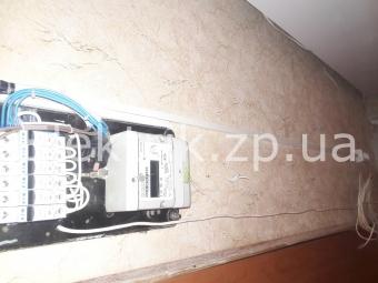 Прокладка провода накладным путем и замена пробок на автоматы в Запорожье.