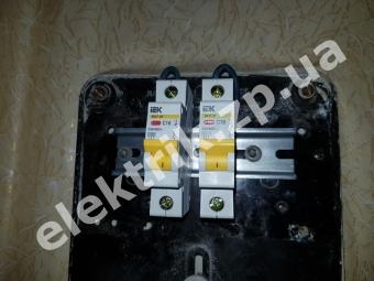 Замена пробок на автоматические выключатели IEK.