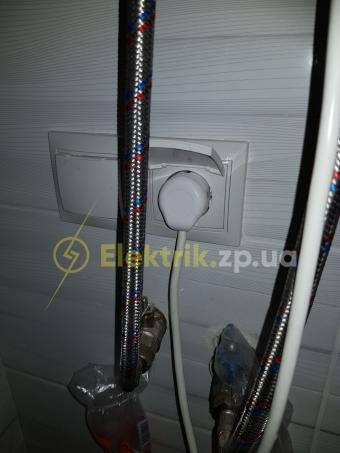 Выбивает автомат водонагревателя, короткое замыкание в бойлере.